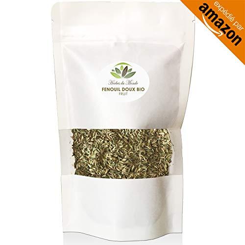 Té dulce de la semillas de hinojo - infusión de lactancia materna hierbas diuréticas drenaje y desintoxicación - 50 g