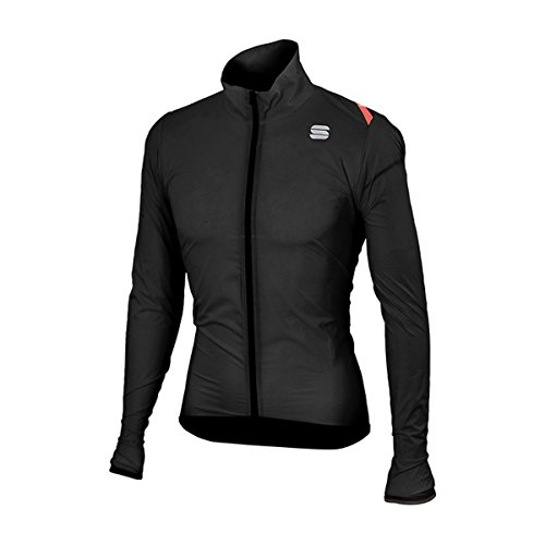 Sportful Hot Pack 6 Jacket Windproof Bike, Black - Negro, L