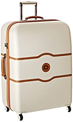 Delsey Paris Luggage Chatelet Hard+ 24 Inch Spinner Suiter Trolley