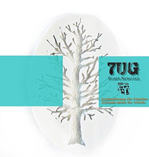 7UG Silikonform Baum/Tree