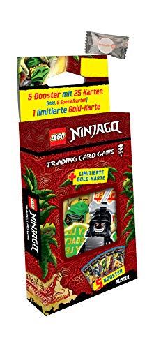 Lego Ninjago Karten Trading Cards Serie 6 - Die Insel (2021) - 1 Blister + stickermarkt24de Gum