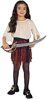 Rubies Haunted House Children's Costumes Pirate Wench - Small