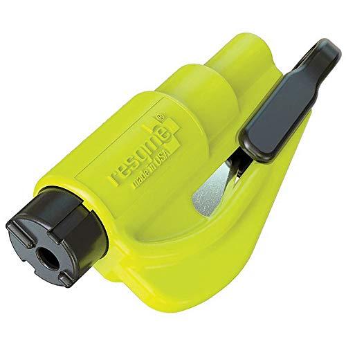 ResQMe 2013 Rettungstool + Schlüsselanhänger ideales Hilfsmittel bei Autounfällen & Notfällen zur Durchtrennung von Sicherheitsgurten und zum Zerschlagen von seitlichen und hinteren Autoscheiben.