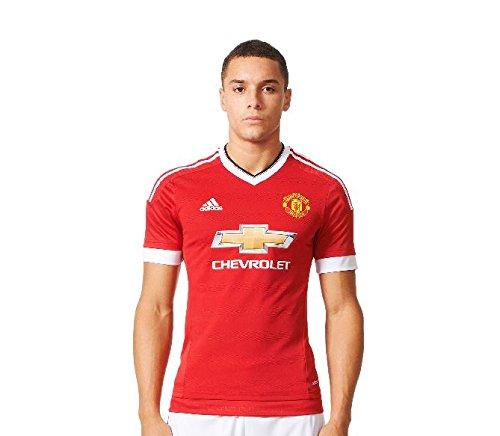 Manchester United Home Authentic Adi Zero Trikot 2015 2016, Red/White/Black, Gr. XL