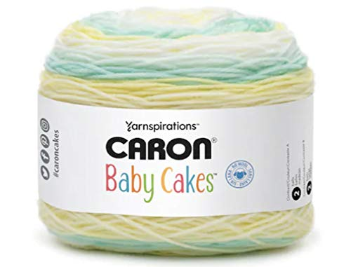 Caron Baby Cakes Self-Striping Yarn, 8.5 oz. / 240g, 560 Yards / 512 Meters (Citrus Delicious 294955-55016)