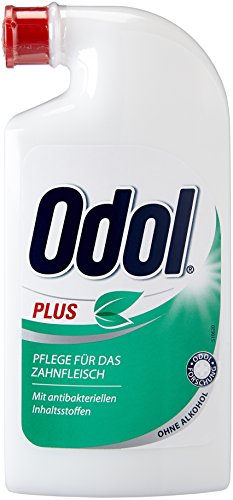 Odol-med 3 Mundwasser Plus, 125ml, 2er Pack (2 x 125 ml)