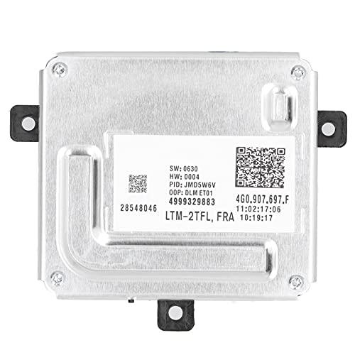 Lastre de control DRL, módulo de luz de circulación diurna Lastre de control DRL 4G0907697D Ajuste de plástico de aleación de aluminio para A1 A3 A4 A5 A6 A8 Q3 Q5