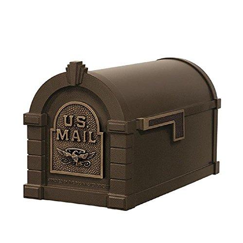 Gaines KS-20A - Eagle Keystone Series Mailboxes - Bronze/Antique Bronze