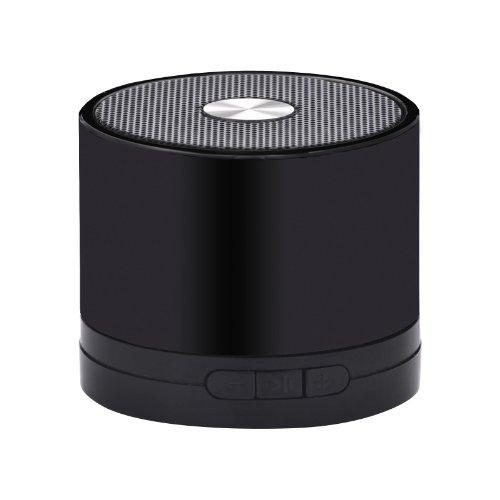 muvit MINISPEAKERBLACK Bluetooth-Lautsprecher mit SD-Microplayer