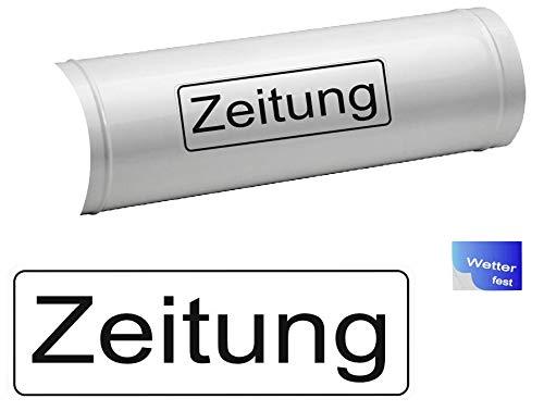 Generisch 1x Zeitung Schriftzug Symbol Aufkleber, Abziehbild (R 38/5) T (10 x 3 cm)