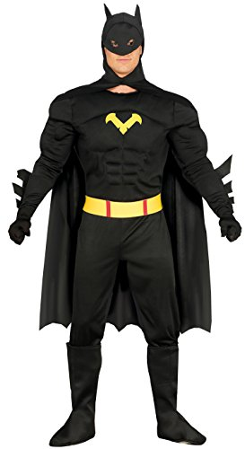 Guirca- Disfraz adulto black hero, 54-56 (84796.0)