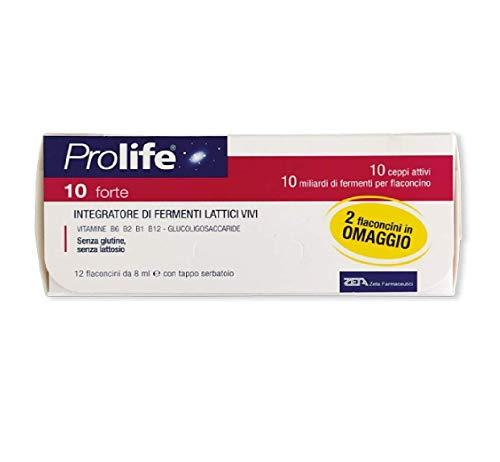 Prolife 10 Forte, 12 Flaconcini - 96 ml