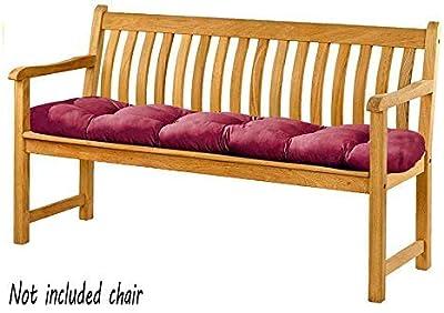 Garden Bench Seat Cushion Seat Pad - 170x48x6 cm - Seat Cover for Garden Bench, Garden Swing or Garden Sofa, Outdoor/Indoor Long Bench Pillow