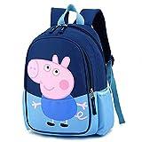 Backpack Cartoon Painting Upgrade for Kids Children's Boy Girls Kindergarten School Book Bag