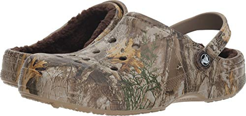 Crocs Winter Realtree Edge Clog Chocolate/Chocolate Men's 8, Women's 10
