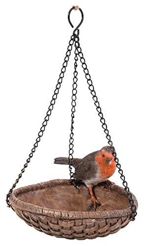 Vivid Arts HGF-031 Hanging Robin Heart Feeder, Multicolour