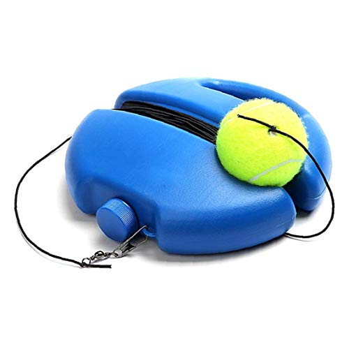 DierCosy Ayuda a La Práctica Engranaje Entrenamiento Portátil Tenis Trainer Rebote De La Pelota De Tenis Equipamiento De La Práctica De La Máquina Pelota De Tenis