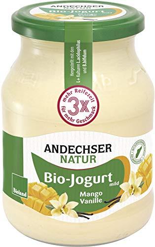 Andechser Natur Bio Bio Jogurt Mango-Vanille 3,7% (6 x 500 gr)