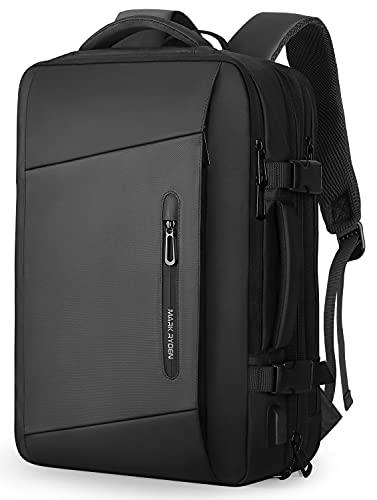 MARK RYDEN Erweiterbarer 25L-40L Rucksack,Business Rucksack Herren, Laptop-Tasche 17 Zoll mit USB-Ladeanschluss,Wasserdichter Rucksack Diebstahlsicher, Fluggeprüfter...