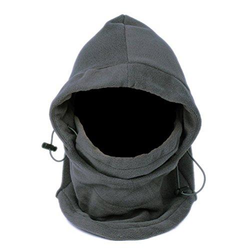 Pixnor Tour de cou Cagoule en polaire Outdoor hiver Premium intégral épais masque chapeau cache-cou