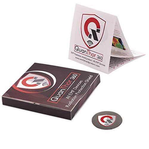 360 EMF Schutz Technologie:EMF Absorption von HANDY, WiFi, Laptop - Alle EMF Geräte | Negative Ionen Generator | International AUSZEICHNUNGEN als Anti Strahlung Schild, EMR Blocker Gerät Neutralizer