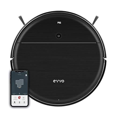 EVVO Robot Aspirador R5 - 4000Pa, Motor Inverter, Sistema de