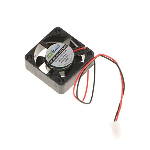 MagiDeal Ventilateur de Refroidissement 3D Imprimante Hydraulique Refroidisseur 30x30x10mm 24V DC