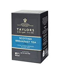 Originally blended for the soft waters of Scotland, this traditional Scottish Breakfast blend can be enjoyed wherever you live. It's a blend of the very best Assam and African teas, with an inviting bright colour in the cup and a full, rich flavour, ...
