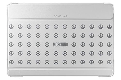 Samsung Diary Tasche Moschino Weiß + Peace EF-EP900BZEGWW Galaxy Note Pro 12.2