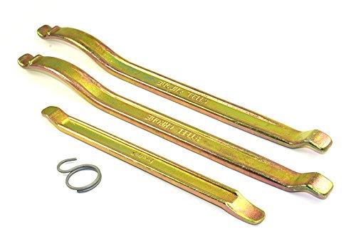 BUZZETTI Kit de Palancas Profesionales para desmontar neumáticos 2x350mm 1x240