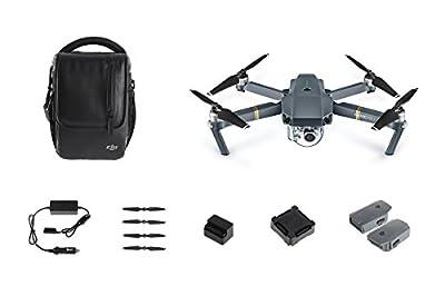 DJI 2Z50228 Mavic Pro Drone Combo Kit - Grey from Dji