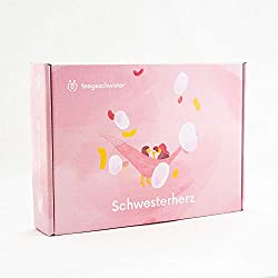 BIO Tee-Geschenkset Schwesterherz mit Tropenblütenhonig für deine Schwester oder beste Freundin | teegeschwister …
