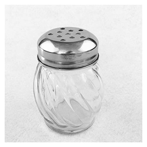 Saleros Y Pimenteros,azucarero Botella de condimento de pollo de sal embotellado NewStyle-Kitchen-Glass-Sazoneding -Bottle-Barbecue - Botella de época -Aceptuación -Aception Jar Pepper ( Color : 2 )
