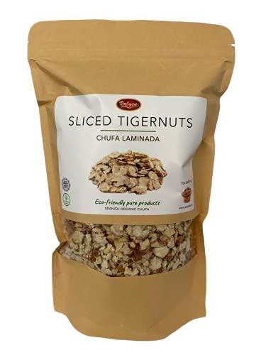 Chufa Laminada - Chufas para Horchata - Ideal para Muesli y para Hornear - Copos Granola Tigernuts 500g