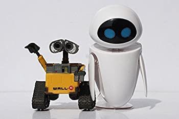 Wall-E Movie Action Figures  Wall-E & Eve 2pc/lot  with Retail Packaging