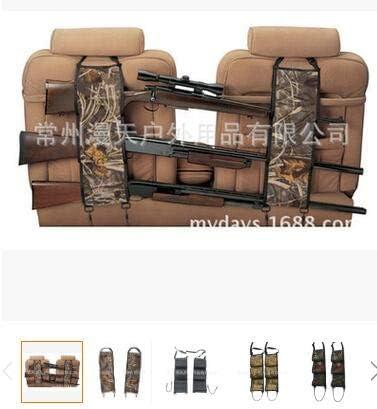 Leyeet Asiento Trasero Pistola Honda Estante Rifle Escopeta Almacenamiento Munici/ón Camioneta Camuflaje Soporte para Cami/ón Uso Universal