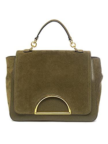 Bolso mujer Dalia diseño ante bolso piel ante Evergreen Talla única