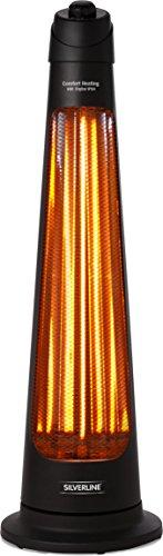 Silverline s-26153Dachrinnenheizung Terrasse Elektrische 900W IPX4schwarz