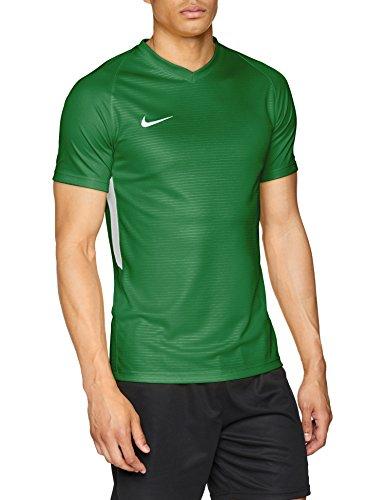 Nike Herren Tiempo Premier Football Jersey T-shirt, Grün(pine green/white), L