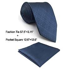 shlax&wing Traje de negocios Corbatas Para Hombre Color Sólido ...