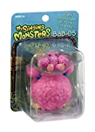 It's baby pompom and egg! Just like in My Singing Monsters Dawn of fire, this baby and egg are adorable! Squeeze the egg open to pop the baby in and out! Fun collectibles-get them all!