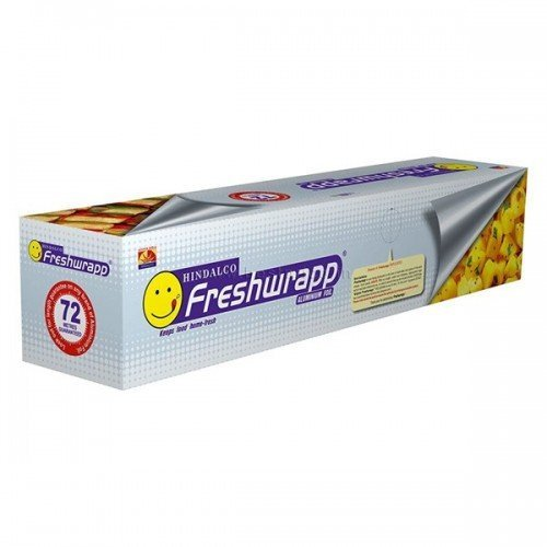 HINDALCO Freshwrapp Aluminium Foil, Length 72 m, Width 30 cm, Weight 821 g