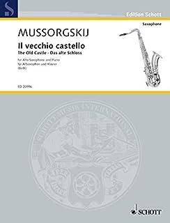 THE OLD CASTLE (VECCHIO CASTELLO) SAXOPHONE (CD)