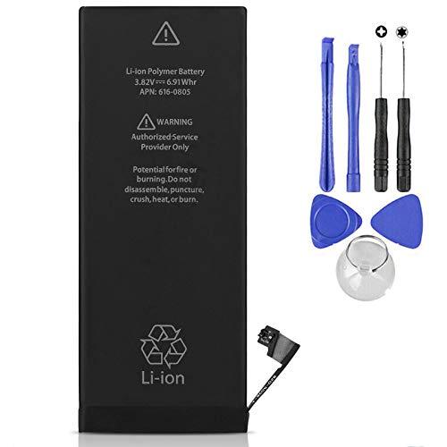 Ellenne Batteria Compatibile con iPhone 6 ad Alta capacità 1810mAh con Tool Kit Incluso