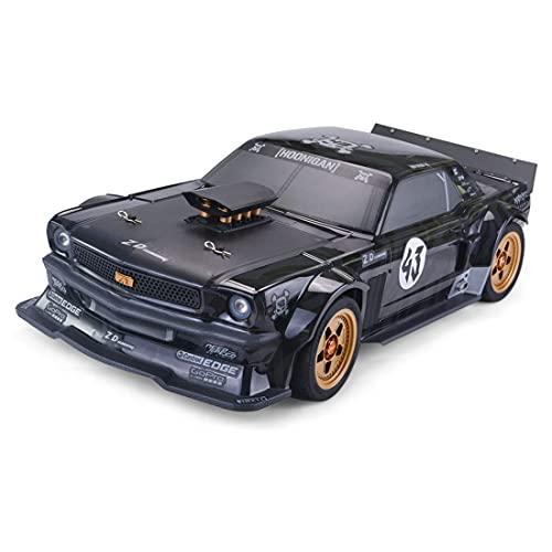 DAN DISCOUNTS Ferngesteuertes Auto, 1:7 4WD RC Auto 130 km/h Funkfernsteuerung Elektro Supersportwagen, 2,4 GHz Rc Drift Auto Schneller Rennwagen Spielzeug für Kinder und Erwachsene - RTR