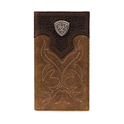 Ariat Ariat Shield Boot Stitch Rodeo Wallet Wallet Medium Distressed Brown One Size