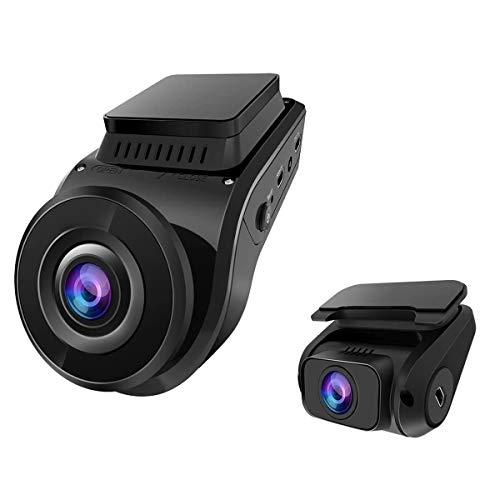 VANTRUE S1 Dual 1080P Superkondensator Dashcam, 2880x 2160P vorne, 24 Std. Parkmodus Auto Kamera GPS Eingebaut, Sony Sternenlicht Nachtsicht, 2 Zoll 330° Autokamera Dash Cam, G Sensor, Max. 256GB