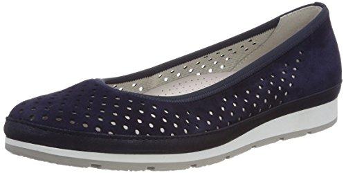 Gabor Shoes Damen Comfort Sport Geschlossene Ballerinas, Blau (Bluettesilk/Gel.), 39 EU