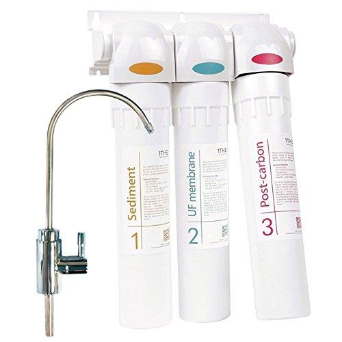 Natures Spring - Sistema de filtro purificador de agua de 3 etapas ...