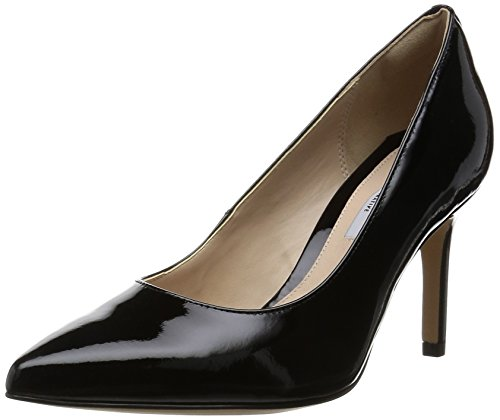Clarks - Dinah Keer, Scarpa Con Tacco da donna, Negro (Black Patent), 39.5 EU